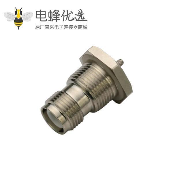 反极tnc连接器穿墙式母头同轴线缆rg178