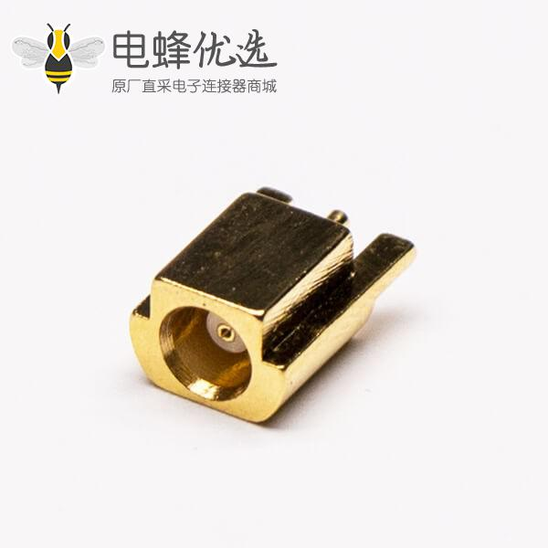 mcx贴片射频接头母头直式镀金接PCB板