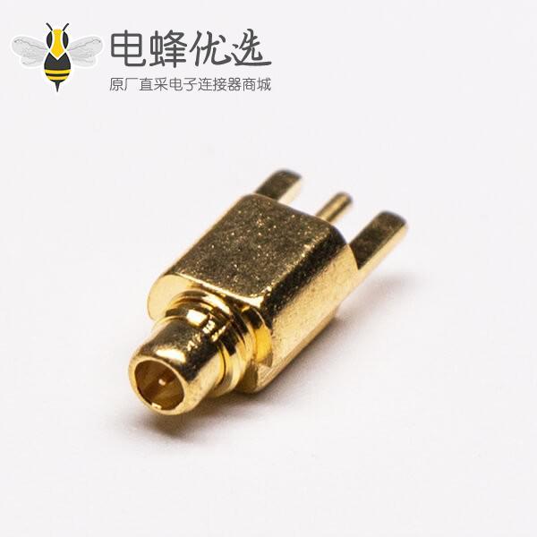 MMCX插座接PCB板镀金沉板直式公头