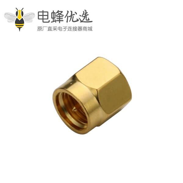 SMA短路器带公针镀金