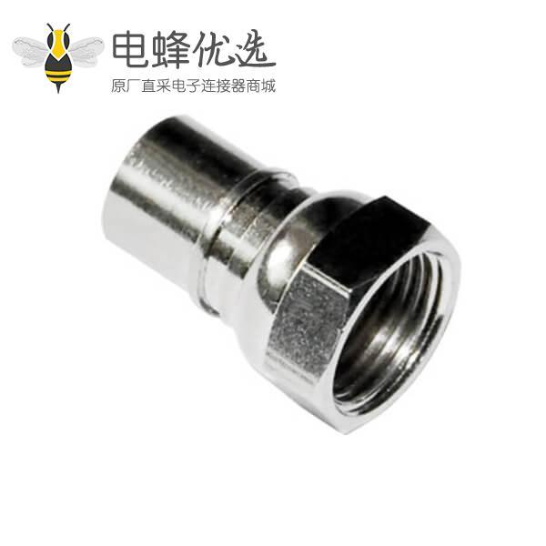 f型同轴连接器公头直式线缆RG58