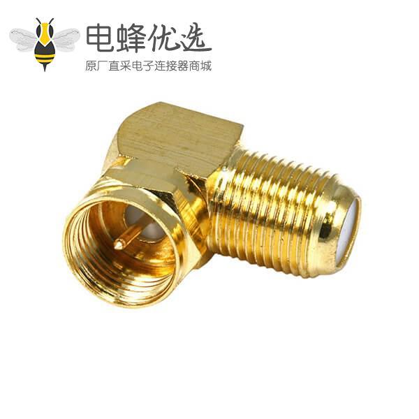 f型射频同轴连接器转接头公头转F型母头