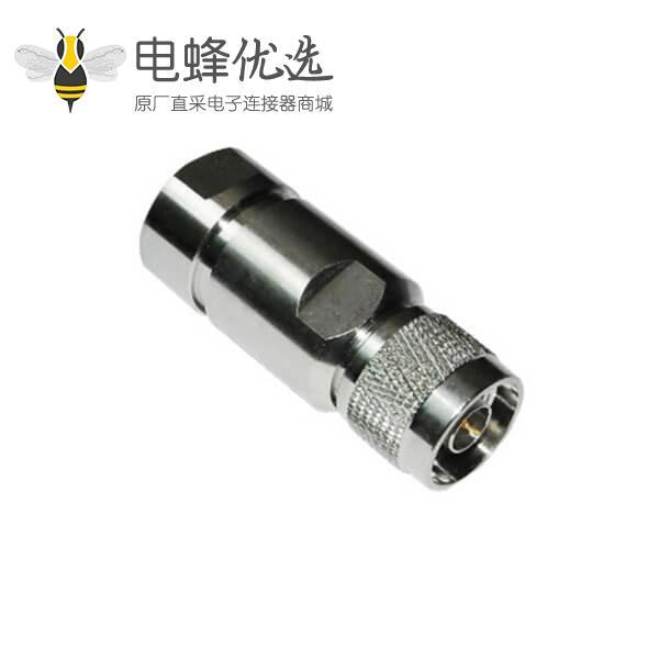 射频同轴连接线RG213_RG214_LMR 195/200 n型螺母锁紧式连接器公头