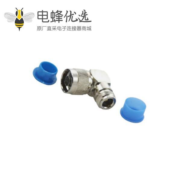 射频同轴转接器n系列防尘弯式公头转接n头母头