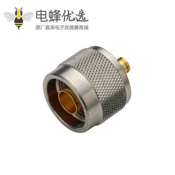 同轴电缆n头直式焊接公头接线UT085