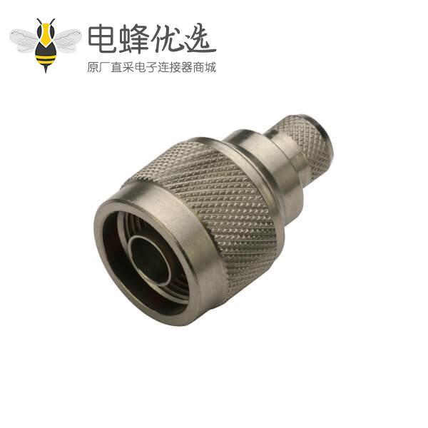 射频同轴连接器直式压接式公头n系列线缆RG214