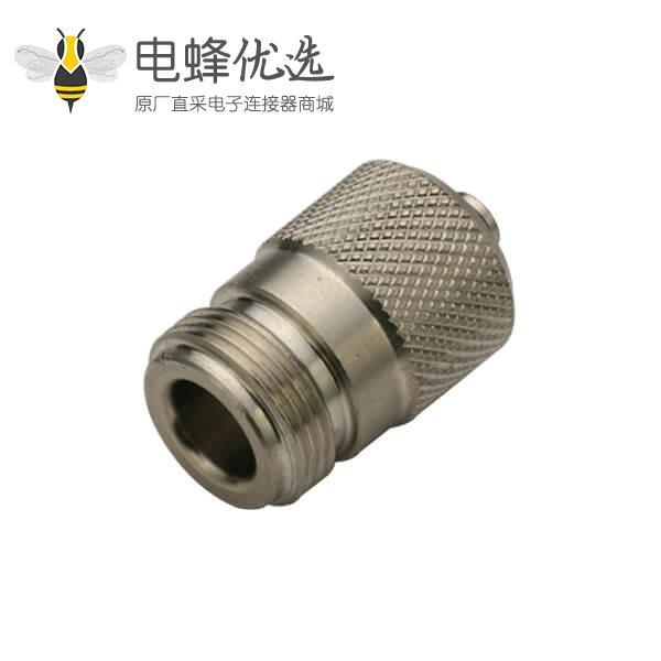 射频同轴连接器n头母头直式焊接连接线UT141