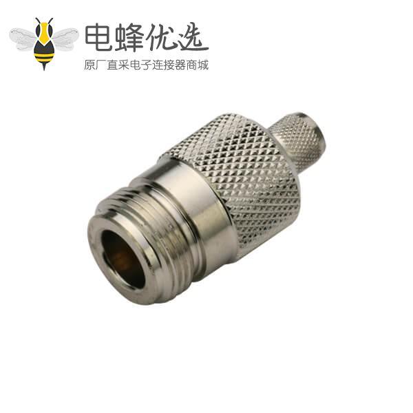 n型同轴连接器母头压接式连接线RG400,223,142