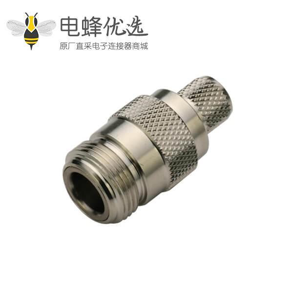 N系列接头母头直式压接同轴线缆LMR400,RG213